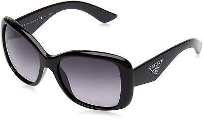 027eb6cc900a Prada PR32PS Sunglasses 1AB5W1-57 - Black Frame polar grey (eBay Link)