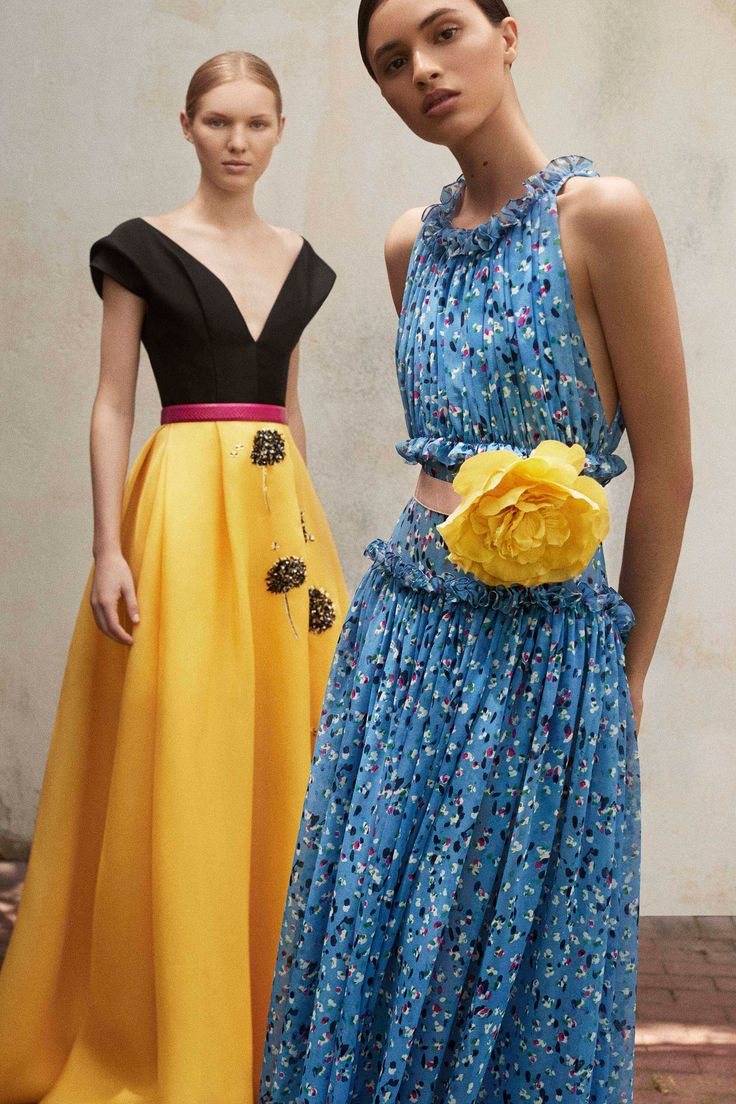 Carolina Herrera Resort 2018 Fashion Show Collection
