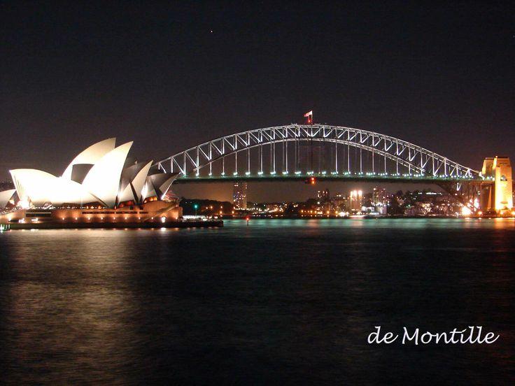Midnight sydney opera house