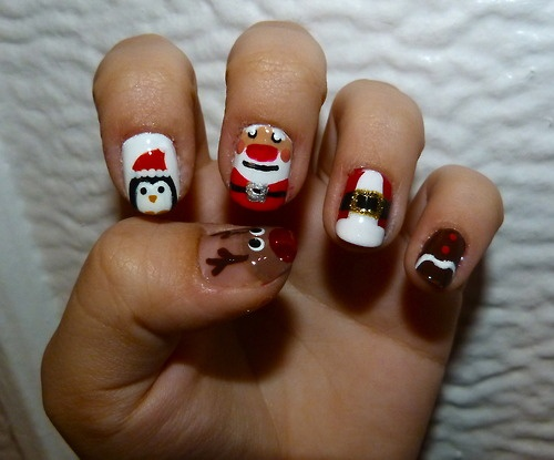 192 best christmas nail art images on pinterest nail art ideas christmas nail art tumblr check out mynailpolishobsession for more nail art prinsesfo Choice Image