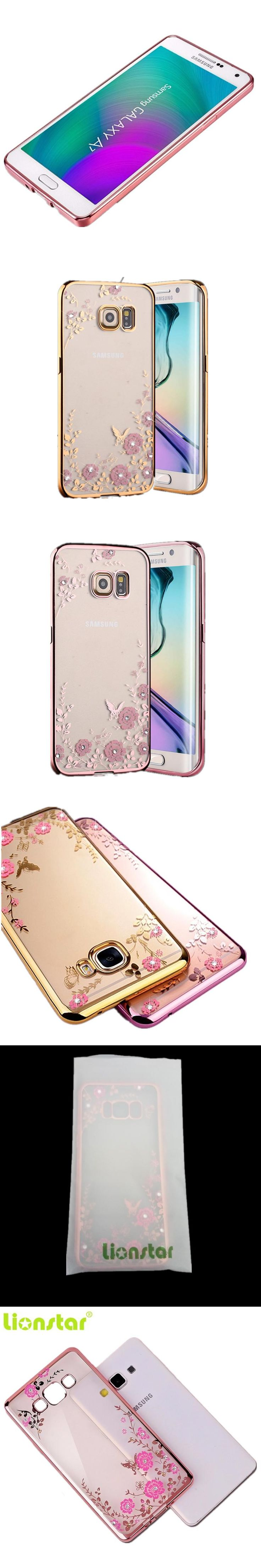 LIONSTAR TPU Case for Samsung Galaxy S3 S4 S5 S6 S7 Edge S8 Plus Cases Silicone Cover for Samsung Note 2 3 4 5 C5 C7 C9pro Etui