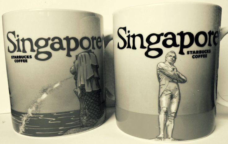 Singapore Starbucks Mug