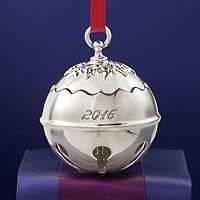 """""""REED & BARTON 2016 ANNUAL """"Holly Bell"""" SILVER PLATE Ornament - 41ST EDITION"""": """"Reed & Barton's… #Jewelry #ClearanceJewelry #DiscountJewelry"""
