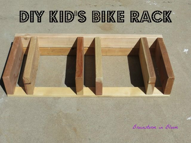 DIY Bike Rack (Single Stem Idea)
