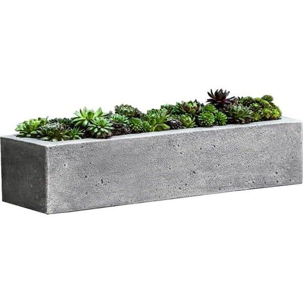 Pottery Barn Brooklyn Planter 140 Liked On Polyvore Featuring