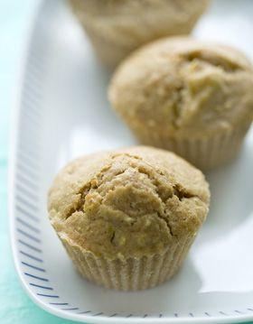 Søde muffins med æble og ingefær (184 kcal)