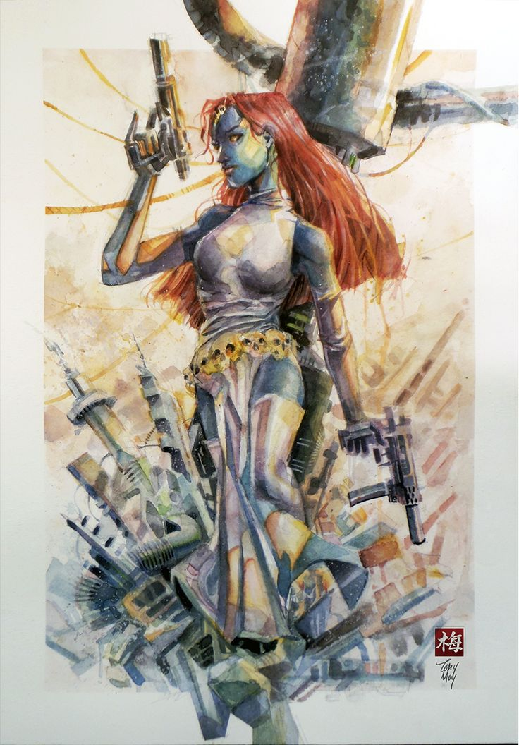 The Women Of Dc Comics Ink In Adam Withers S Dc Comics: 94 Best Images About Mystique. On Pinterest