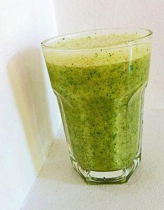 """Smoothie of the day: """"groene smoothie"""" met peer, banaan en rucola"""