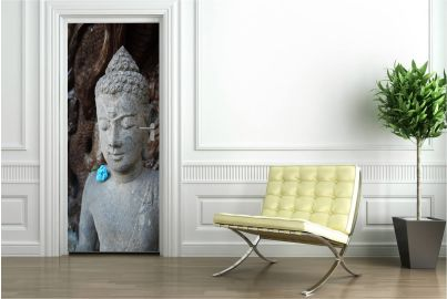 Deursticker Boeddha Mooie unieke deurstickers van  www.deurstickers-online.nl Of het nu gaat om een deursticker voor de kinderkamer, een deursticker voor de deur van de woonkamer  of een deursticker voor deuren op kantoor, deurstickers springen in het ogen en creeeren een uniek effect.
