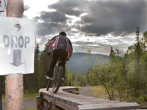 Bike Park #Levi #Lapland #Finland