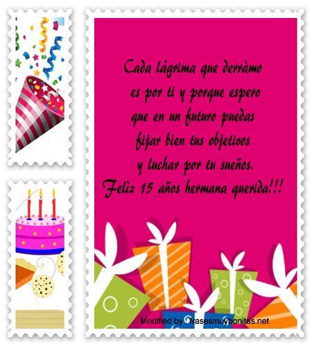 descargar frases bonitas para quinceañera,enviar mensajes para quinceañera; http://www.frasesmuybonitas.net/mensajes-de-quinceanera-para-tu-hermana/