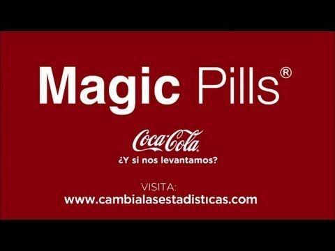 Nuevo Spot Coca-Cola - Magic Pills, la solución contra la obesidad - http://www.informabtl.com/2013/07/05/coca-cola-obliga-a-los-consumidores-a-hacer-ejercicio/