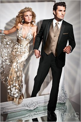 Tony Bowls Genesis Fitted Tuxedo from Jim's Formal Wear. Great one-button Tux! Available at Rebecca's Black Tie! www.rebeccasweddings.com