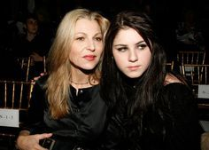 Actress Tatum O'Neal and daughter Emily McEnroe attend the Cynthia Rowley Fall 2009 fashion show during Mercedes-Benz Fashion Week on February 16, 2009 in New York City.  (Photo by Gariela Maj/Getty Images for IMG) *** Local Caption *** Tatum O'Neal;Emily McEnroe