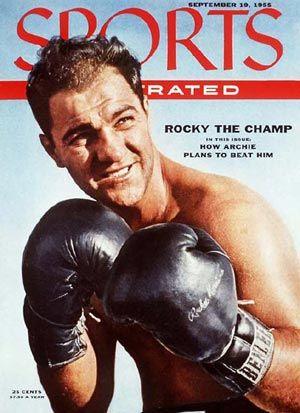 Rocky Marciano, il peso massimo imbattutto di origini abruzzesi  http://www.uniquevisitor.it/abruzzo/rocky-marciano-pugile-abruzzese.php