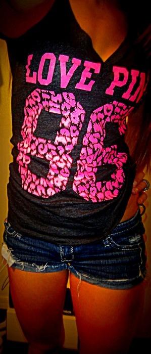 : Vs Pink, Vspink, Victoria Secret Pink Shirts, Victoria Secret Pink Outfit, Victoria Secret Pink Summer, Pink Shirts Victoria Secret, Victoria Secret Clothing Pink, Summer Shorts, Dreams Closets