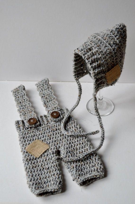 Newborn Baby Crochet Vintage Style Photography by unRaveledCrochet