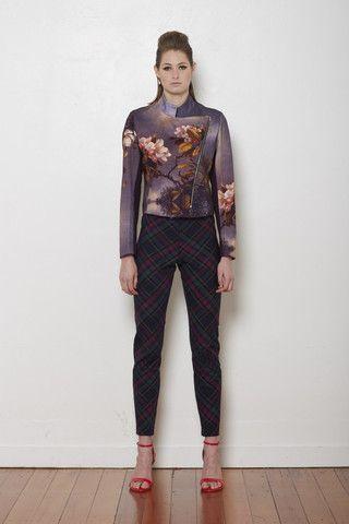 Flame My Heart jacket, Sheryl May 'reign FALL' autumn / winter 2014 range.