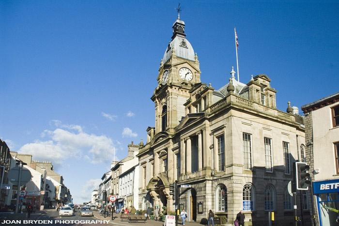 Kendal Town Hall, Cumbria