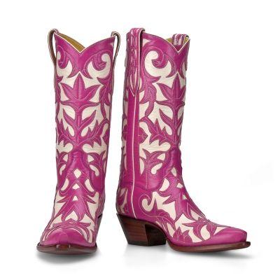 Pink Back at the Ranch Cowboy boots