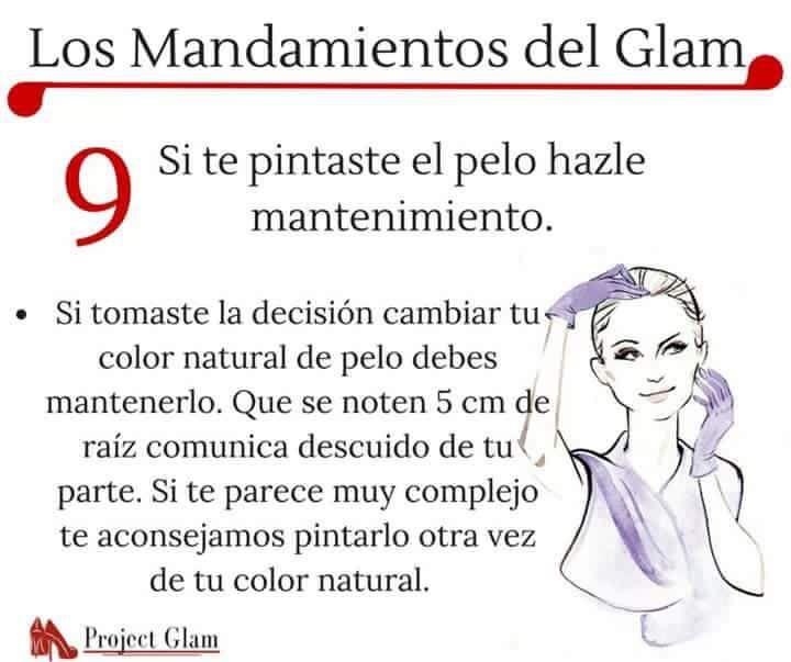 Los Mandamientos del Glam