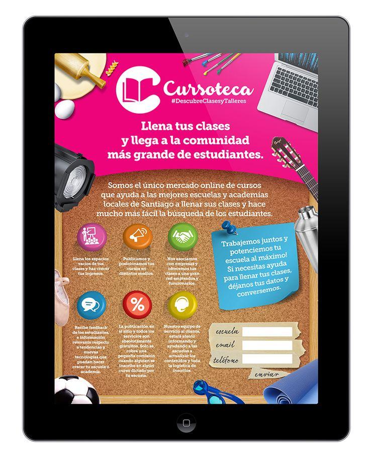 Cursoteca | Landing Page