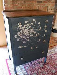 25 Best Ideas About Floral Painted Furniture On Pinterest Hand Painted Furniture Floral