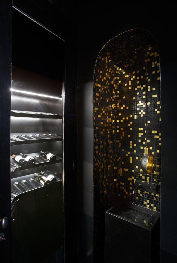 Cave à vin-  Appartement Parisien de 320m2- GCG Architectes