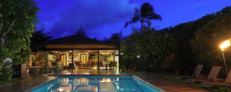 Oceanfront Kauai Condo Rentals at Hanalei Colony Resort