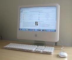 My history iMac G5. He is still standing behind iMac late 2009.