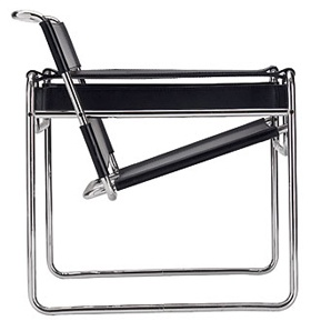 Wassily chair: a chair I grew up with... wish I had it now.