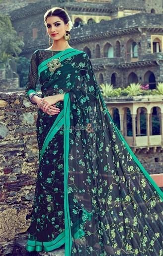 Charming Black Georgette Printed Cheap Saree For Indian Women   #DesignersAndYou #Sarees #SareeBlouse #Saree #DesignerSarees #BuySareesOnline #SareesDesigns #LatestSarees #CasualSarees #CheapSarees #BeautifulSarees #SareesIndia #LaceSarees #SareeswithPrice #DesignerSaree #DesignerSareeBlouse #CasualSaree #CasualSareeBlouse #LatestSaree #LatestSareeBlouse #BuySareeOnline #BuySareeBlouseOnline