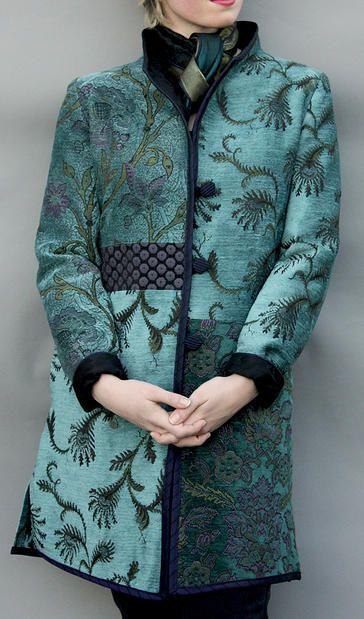 Mary Lynn O'Shea: Designer | Weaver | Coats Manchester Coat