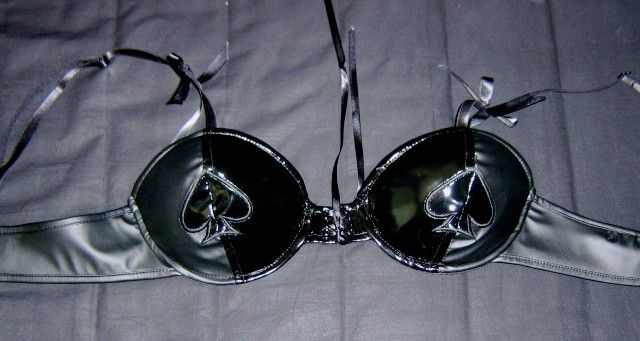 "LIP SERVICE Queen Of Hearts ""Double BPM"" bra #38-473"