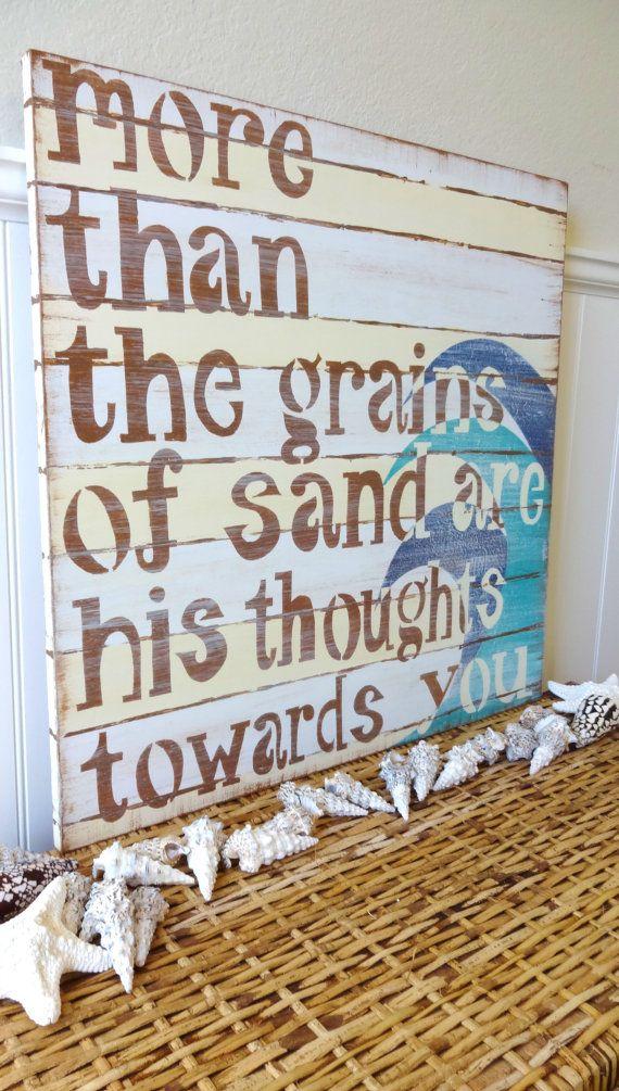 Surfer Boy Bedroom Nautical  Prayer Sign PSALM by MeetMeByeTheSea, $99.95