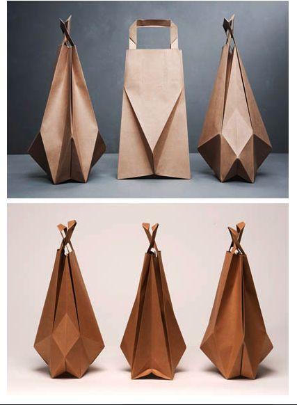 packaging origami - Cerca con Google                                                                                                                                                                                 Más