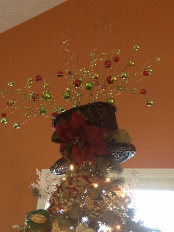 Make A Christmas Tree Angel Topper