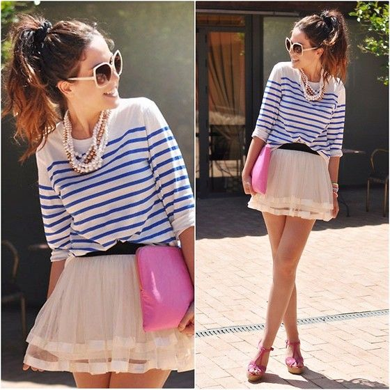 Chic Stripes (by Crris LoveShoppingandFashion) http://lookbook.nu/look/3616417-Chic-Stripes
