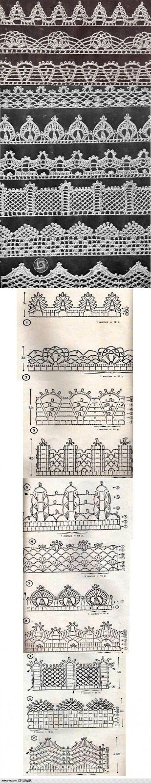 Wzory ściegów szydełkowych, Ciekawe ściegi szydełkowe, Lekcje szydełkowania, filmy DIY, tutoriale
