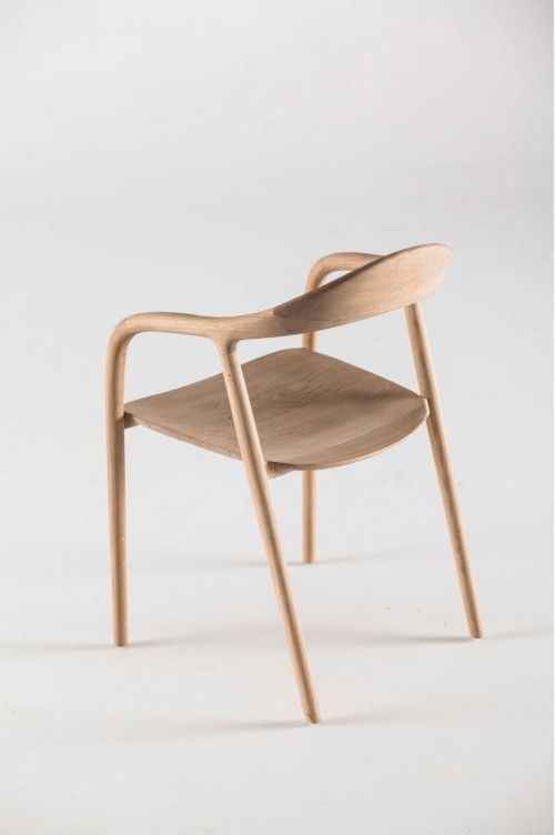 Neva Chair is a minimalist design created by Croatia-based designers Ruđer Novak-Mikulić & Marija Ružić. The Neva Chair is available in six ...