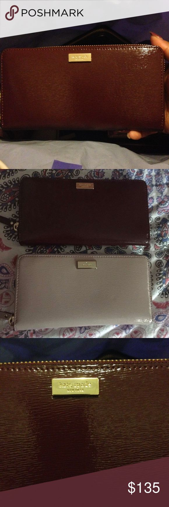 Kate Spade Bixby Place Neda wallet SALE ❤️ Brand new! Smooth shiny cross hatched leather texture. With original tags still attached! Makes a beautiful birthday or Mother's Day gift! Please make your offers through the offer button, I don't discuss prices in comments! Please keep in mind the 20% commission fees when making offers. kate spade Bags Wallets