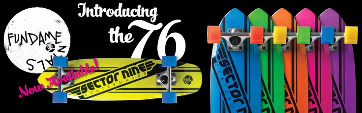 Sector 9 76ers lil mini wooden cruisers
