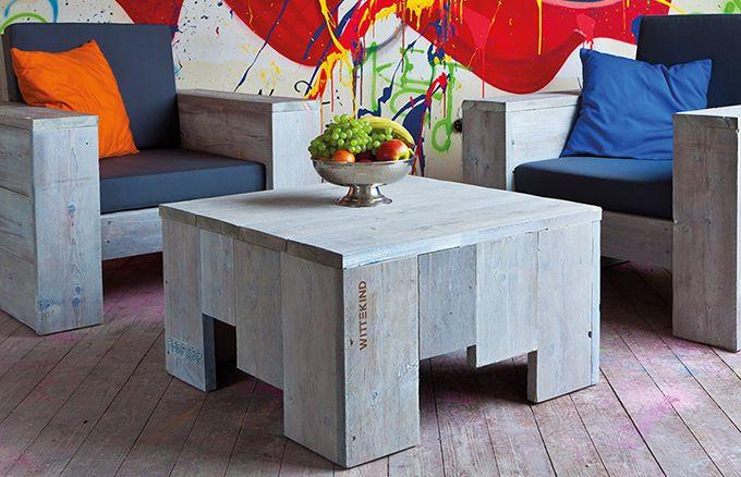 Lounge Tisch in puristischem Design » WITTEKIND Loungemöbel