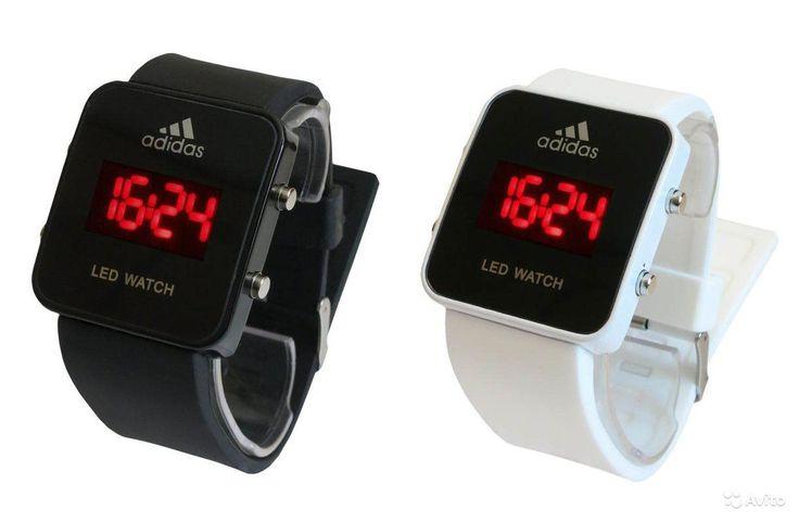 Часы Adidas LED watchhttp://chasiki18.apishops.ru/ Светодиодные наручные часы Adidas LED watch - стильные спортивные часы, которые будут отлично смотреться на любой руке. В наличии имеются часы двух классических цветов - белые и черные.  Часы Адидас оснащены светодиодным дисплеем, корпус часов выполнен из нержавеющий стали, циферблат - из прочного полированного оргстекла.