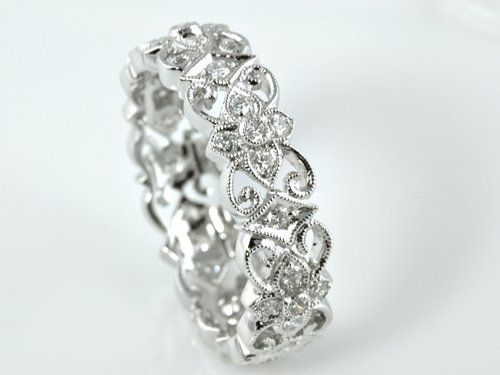 gorgeous filigree ring by Mouradian