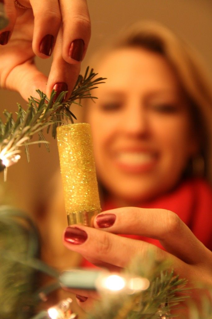 Get Crafty With Shotgun Shell Ornaments * I'd love a hunting themed tree this year!