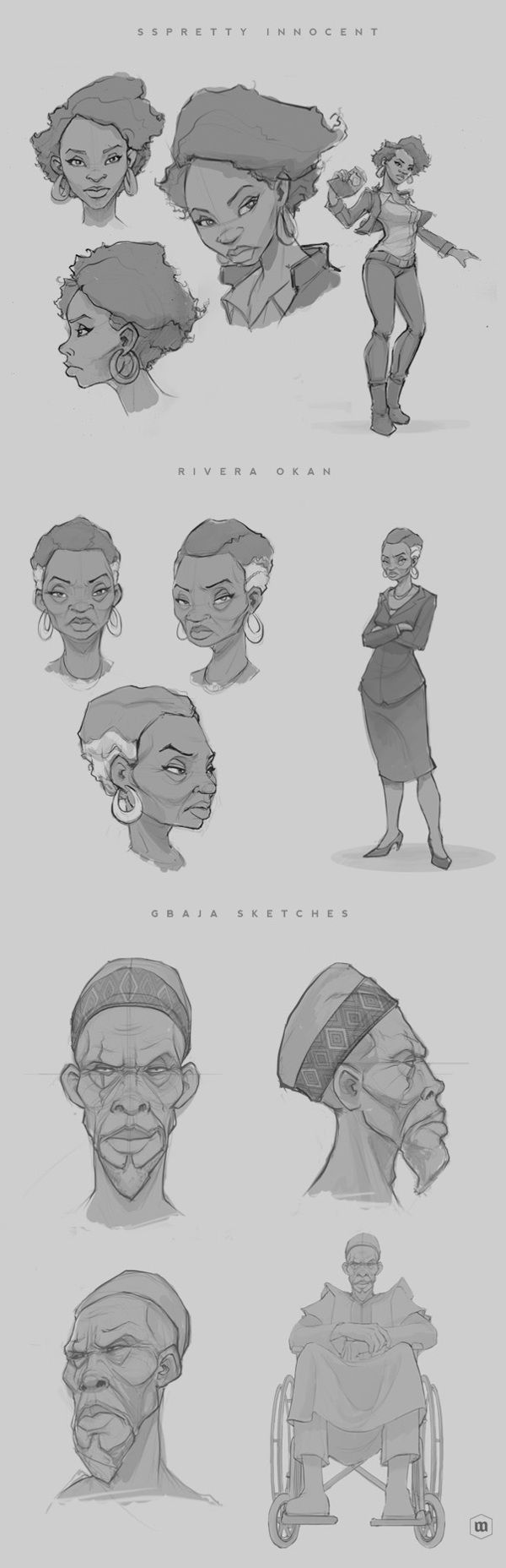 Black Sage Characters on Behance