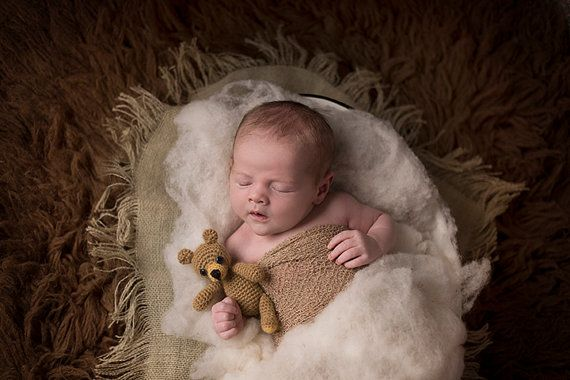 Youre going to love using our wool for your baby photography! This wool is from our own flock of sheep and cleaned the old fashioned way without harsh chemicals.