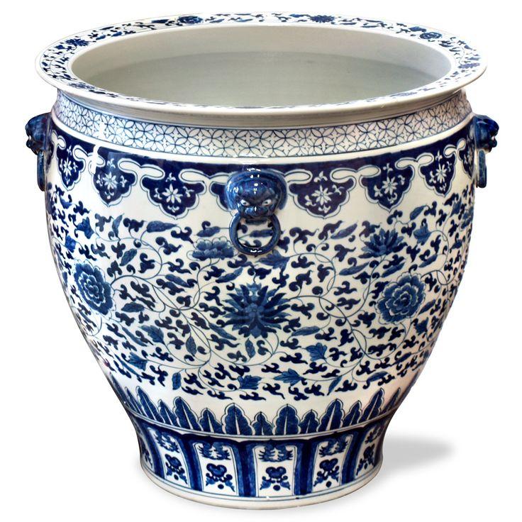Large Chinese Planter Pots Shapeyourminds Com