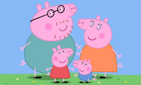 Love some Peppa Pig - penis snouts with British accents!! Ha!!